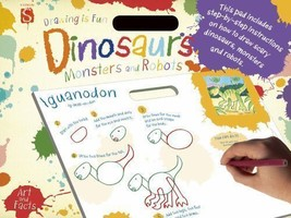 Drawing Is Fun: Dinosaurs, Monsters and Robots by Mark Bergin (2014, Pap... - $8.90