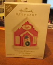 Hallmark Keepsake ORNAMENT-SPECIAL Edition Welcome Christmas 2011 Repaint - $7.50