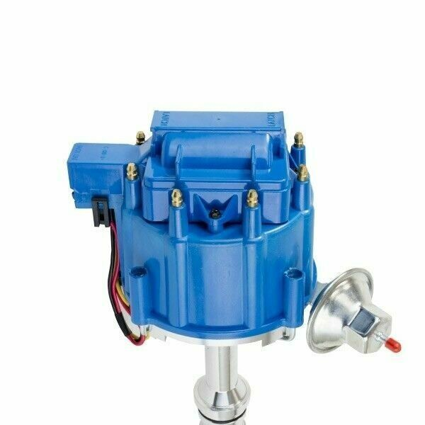 HEI Complete Distributor 65K Coil One-Wire Installation Blue Cap