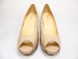 Liz Claiborne Ramona Pumps Peep Toe Platform Heels Nude  Size 8.5M - $38.69