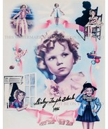 SHIRLEY TEMPLE BLACK SIGNED AUTOGRAPH AUTOGRAM 8x10 RP PHOTO W HER CHARA... - $22.99