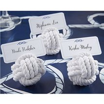 Nautical Cotton Rope Place Card Holder (Set of 60) - $95.06