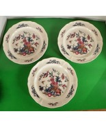 Wedgwood Williamsburg POTPOURRI Dinner Plate (s) LOT OF 3 QueensWare - $74.20