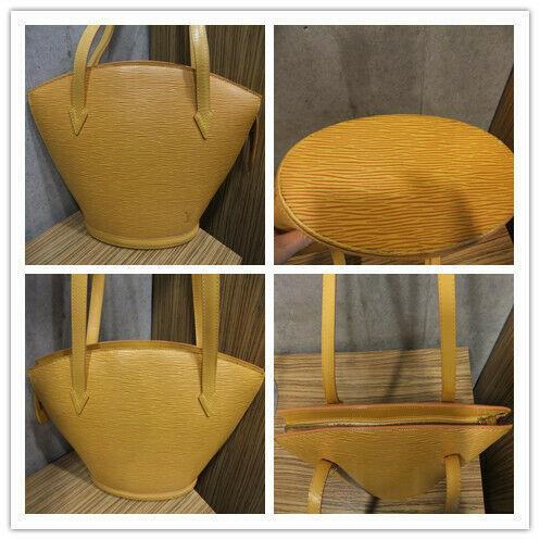 Louis Vuitton shoulder handbag epi Saint-Jacques Jonu