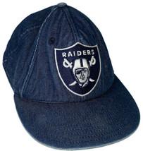 NFL Las Vegas Raiders reebok dark blue Denim Hat - £11.34 GBP