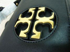 NWT Tory Burch Black Leather Miller Metal Cross-Body Bag/Mini Shoulder Bag $398 image 11