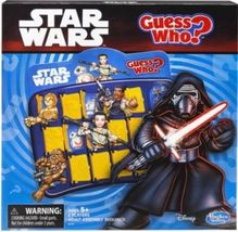 Star Wars Guess Who Game by Hasbro Children & Family Fun - $27.77