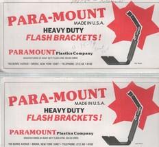 Para-Mount Heavy Duty 1979 Fold Out Manual - $3.00