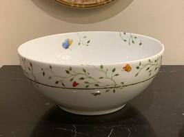 Raynaud Limoges France Histoire Naturelle Salad Bowl Designed by Pamela ... - $449.00