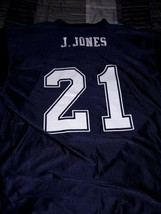 Dallas Cowboys J. JONES NFL Players Jersey Authentic Apparel XL Blue #21 - $21.77
