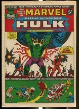 MIGHTY WORLD OF MARVEL #42 1973-HULK-FANTASTIC FOUR-KIRBY-UK COMIC FN - $44.14