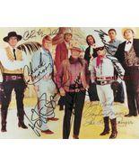 COWBOY STARS SIGNED AUTOGRAPH RP PHOTO JOHN WAYNE CLAYTON MOORE CHUCK CO... - $19.99