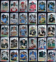 1988 Fleer Baseball Cards Complete Your Set Pick From List 221-440 - $0.99+