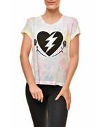 Camiseta Wildfox para mujer Love Roses No9 Multicolour XS - $73.74