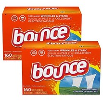 Bounce Fabric Softener Sheets, Outdoor Fresh, 160 Count (Pack of 2) - $49.00
