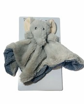 Best Made Toys Plush Elephant Rattle Security Blanket Lovey Grey Infant Baby - $14.73