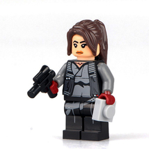 Jyn Erso Star Wars Rogue One Minifigures Custom Minifig Toy Building Sup... - $3.79