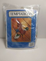 Vintage Temptations Mallard in Flight J L craft designs Needlepoint Kit ... - $16.65