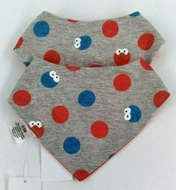 Lot Of 2- Isaac Mizrahi Bib Baby Girl Or Boy 0-3 Months Snap Sesame Stre... - $9.89