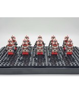 Star Wars Coruscant Guards Set 10 Minifigures Lot - $21.99