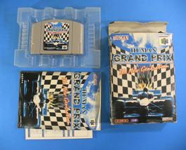Human Grand Prix F1 Pole Position Complete Box CIB (Nintendo 64 N64, 199... - $9.84
