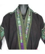 Antique Chinese Miao Hmong Hill People Hand Embroidered Costume Jacket R... - $395.95