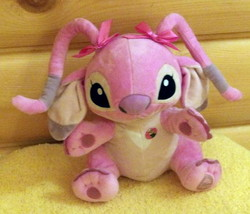 "Lilo & Stitch Disney Plush 10"" PINK ANGEL Experiment - Despicable Minion Stewart - $8.89"