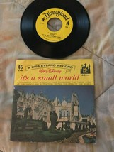 Walt Disney It's a Small World 45 RPM Record Disneyland Vinilo - £3.70 GBP