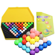 IQ Pyramid Logic Toy Mind Brain Teaser Educational  Magic Puzzle Ball Beads - $20.60