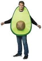 Avocado Adult Costume Food Halloween Party Unique Cheap GC6546 - £41.08 GBP