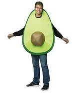 Avocado Adult Costume Food Halloween Party Unique Cheap GC6546 - £39.79 GBP