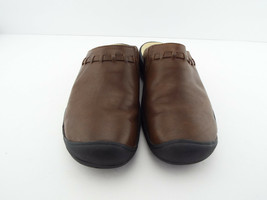 KEEN Size 8.5 Brown Leather Mule Clogs Shoes 39 - $39.00