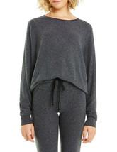 Wildfox Womens Baggy Beach WVV613000 Sweatshirt Relaxed BLCK Black Size XS - $65.55