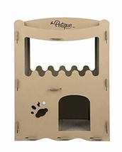 PETIQUE Feline Penthouse Cat House, Kraft, One Size - $68.68 CAD
