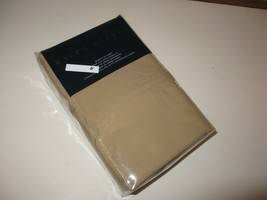 Ralph Lauren 464 Solid Percale Burnished Chamois Queen Flat Sheet  - $62.03
