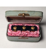 Lot of 3 Authentic Civil War Pips with padded case holder - $94.05