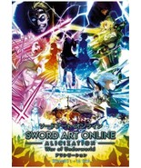 Anime DVD Sword Art Online Alicization War Of Underworld Vol.1-12 End En... - $17.99