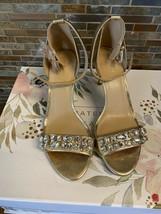 MICHAEL michael kors gold heels - $57.09