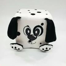 Nanco Square Dalmatian Puppy Dog Cubed Plush Stuffed Animal Toy B350 - $9.97