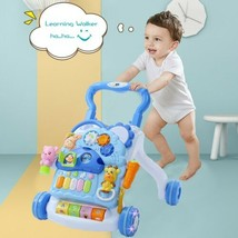 3-in-1 Piano Drum Baby Learning Walker With Sound & Light for children 3 months+ - $129.97