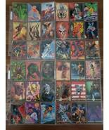 1993 Marvel Masterpieces Complete 90 Card Base Set - $24.99
