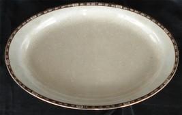 "Vintage Homer Laughlin 13.5"" Oval Platter, FSNS NICE - $9.89"