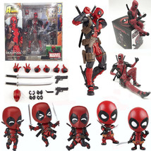 Deadpool Marvel Variant Play Arts Kai Action Figure Toy Doll Statue Disp... - $41.00