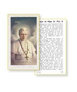 St. Pope Pius X Prayer Holy Card 100-Pack - $34.99