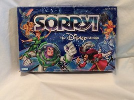 SORRY! The Disney Edition Parker Brothers Hasbro Board Game - $14.80