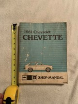 1981 Chevrolet Chevette Shop Manual Smudged Exterior But Complete And Whole. - $3.95