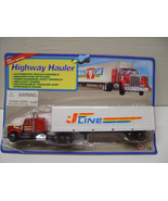 Diecast Toy Semi Trailer Trucks  Highway Hauler Semi Trailers  nTy91 - $18.99