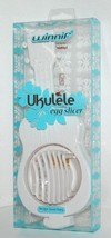 Winnif 32591013 Ukulele Shaped Boiled Egg Slicer Color White - $12.99