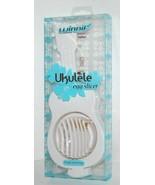 Winnif 32591013 Ukulele Shaped Boiled Egg Slicer Color White - $12.99