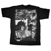 BATMAN VS. THE JOKER DC COMICS MENS COTTON BLACK SMALL T-SHIRT NEW - $9.75